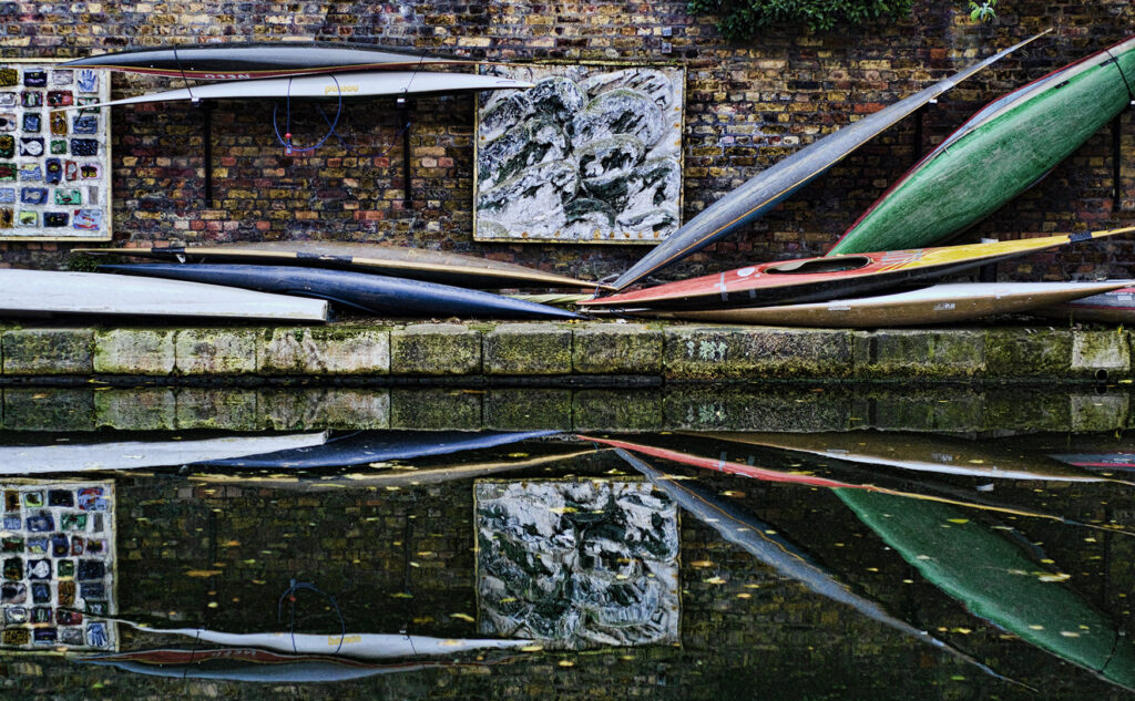 Canal Canoes at Camden