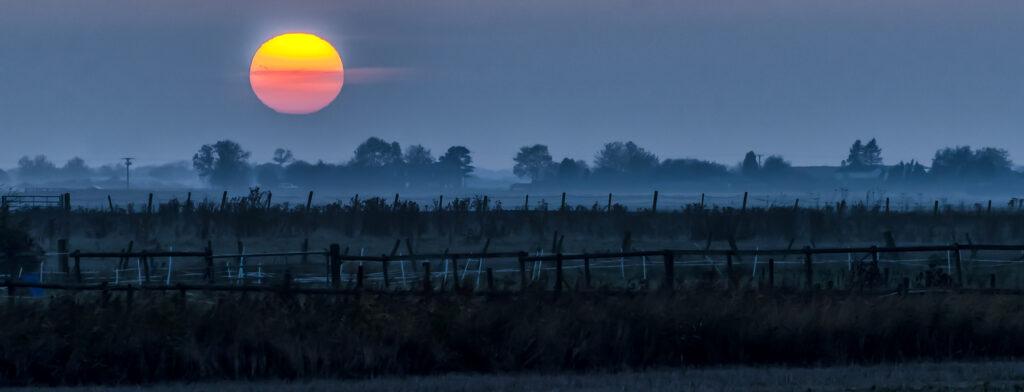 Sutton St Edmund Sunset