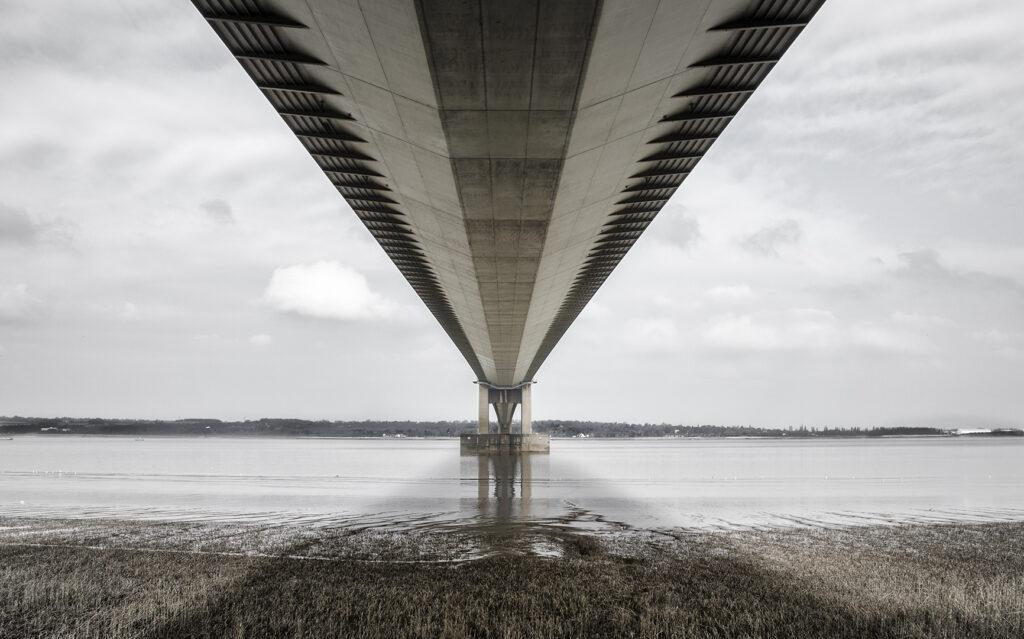 Under Humber Bridge